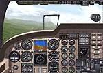 FS2000                     Panel for Piper Seneca 5.