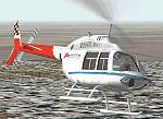 FS2K                   Bell 206 replacement textures in Simviation colors & Stevie                   Wonder