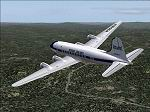 FS2004                   DC-4 Resort Airlines Textures only.