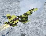 FSX Sukhoi Su-37 Flanker-F