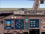 FS2000                   767-400ER advanced panel