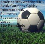 FS2004 Embraer EJet E190 on Brazilian Football/Soccer Team Colors (part 3) - 10 teams