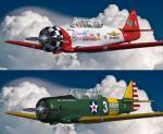 FSX/P3D North American T-6 Quad Package