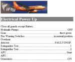 iFly Boeing 737-700 Checklist
