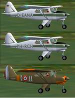 FS2004                   Piper PA-22 Tripacer Textures pack