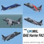 FSX                   BAE Harrier FA2 Royal Navy Package