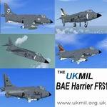 FSX                   BAE Harrier FRS1 Royal Navy Package.