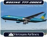 FSX/FS2004 Boeing 777-200ER Vietnam Airlines