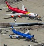 Boeing 747-8 SkySeries Vietnam Cargo Repaints