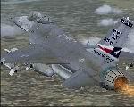 FS2004                   aircraft - Lockheed Martin F-16 147FW TX ANG