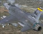 FS2004                   Lockheed Martin F-16 Falcon 150FW, New Mexico ANG