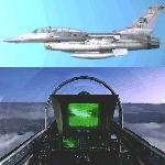 FS2004                   2-Seater Gmax F-16 Viper in US colors