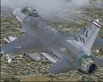 FS2004                   aircraft - Lockheed Martin F-16 301FW TX ANG Lockheed Martin                   F-16 Texas Air National Guard