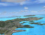 British and US Virgin Islands Scenery