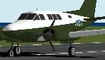 FS2000                   US Army Beechcraft Queenair 70.