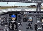 FS2000                   panel--Improved Boeing 737-400