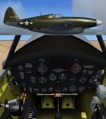 FS2004/FSX/P3D Republic XP-47H Pursuit Experimental