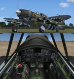 FS2004/FSX/P3D Republic XP-47J Escort Experimental