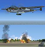 FSX Do17 Accurate Bombing from 12000ft or 100ft