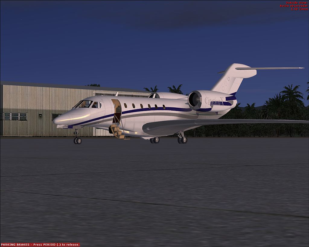 New FSX Citation X its out! (freeware)