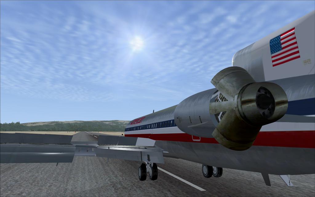 FSX Boeing 727 The FSND 100% Native FSX-SP2 compatible model of the.