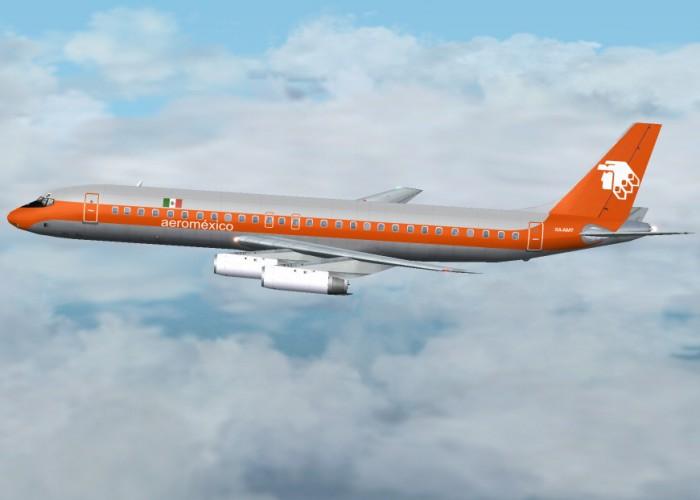 HJG Douglas DC-8-62