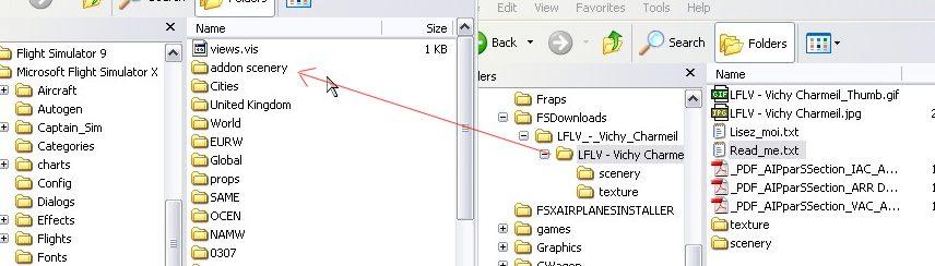 FSX Scenery Install