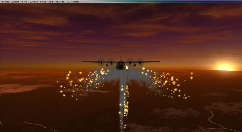 simviation forums view topic c130 angel wing flare