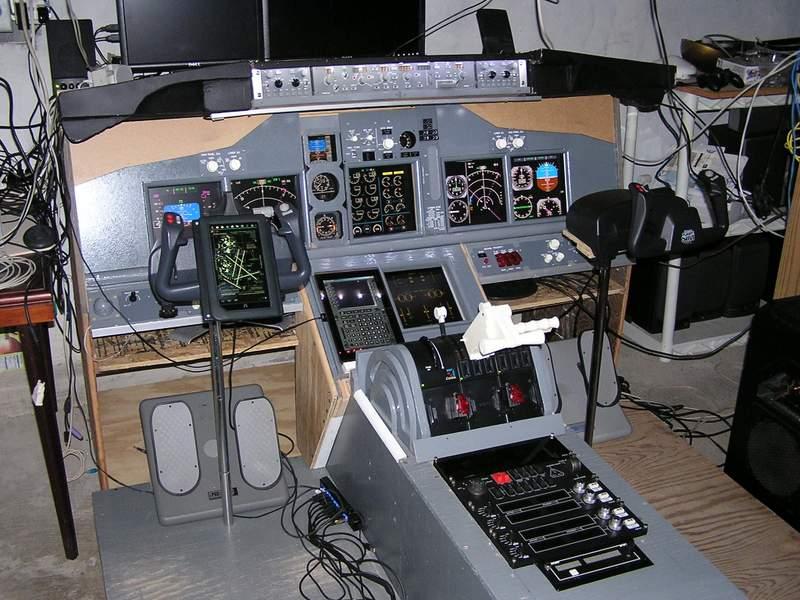 Simviation forums view topic home build flight simulator for Home building simulator