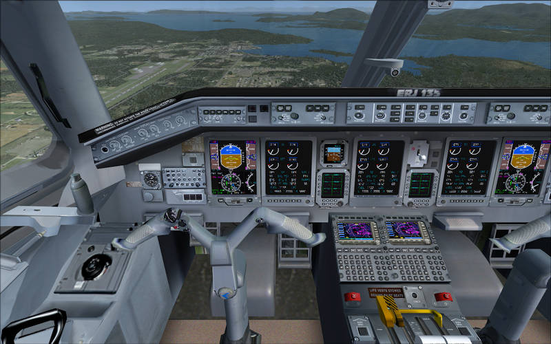 Simviation Forums • View topic - Downloaded Embraer 135 Delta Con