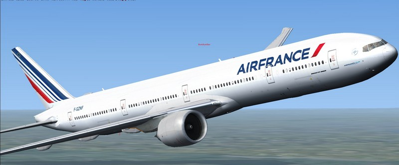 Simviation Forums • View topic - Boeing 777-300ER Air France