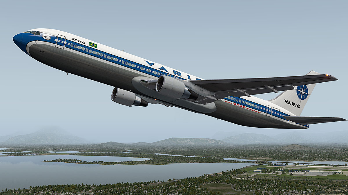 Simviation Forums • View topic - Varig 767-300 preparing for take off