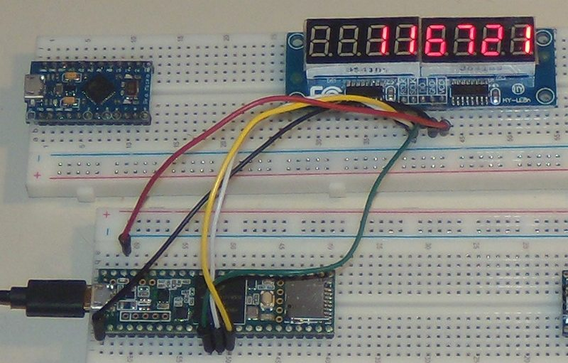 Conversion from int to char arduino
