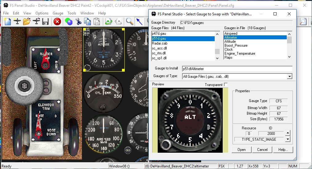 Simviation Forums • View topic - Flight Sim Panel Studio