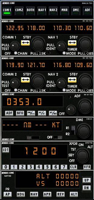 Simviation Forums • View topic - Bendix-King Radios