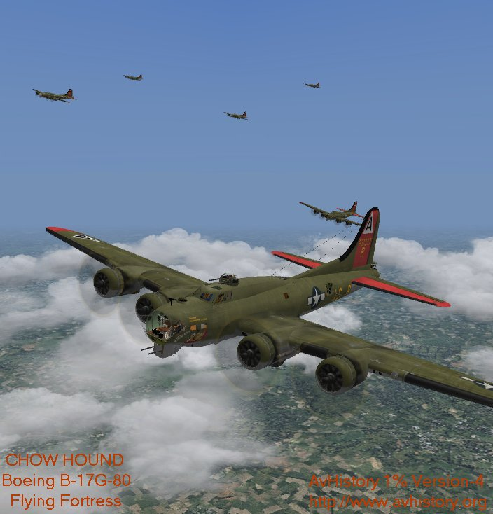 Simviation Forum - AvH Version-4 of HerbieG-Bravo/4 B-17G-80 Chow Hou